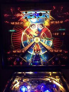 Bally Xenon pinball machine - restored