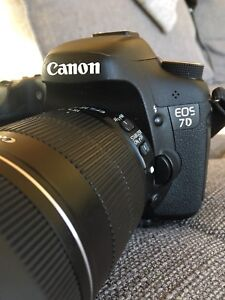 Canon 7D(pending)  + EF 50mm 1.4 and EFS 18-135, CF Cards, Bag+