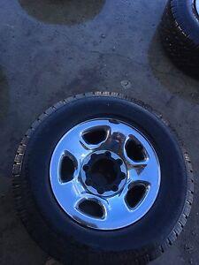 Rims/tires running boards $800 obo