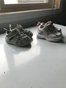 Size 4t runners and play sandals