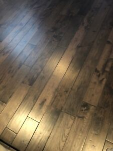 Solid Hickory Hardwood flooring