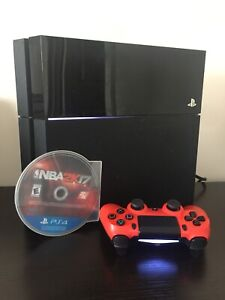 Great Condition PS4 with Controller    and    Game
