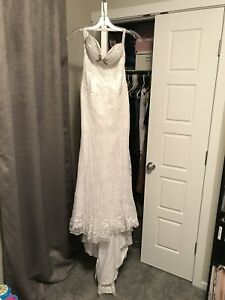 Summer wedding dress, size 5/6