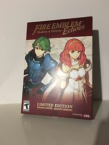 Brand New in Box Fire emblem Echoes Limited Edition