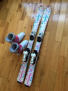 Girls Skis & Boots