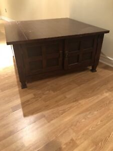 Beautiful Wood Coffee Table- Fixer Upper
