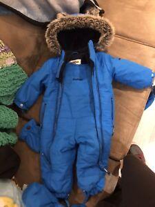 Oshkosh 12 month snow suit