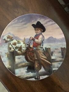 Rodeo Joe collector plate