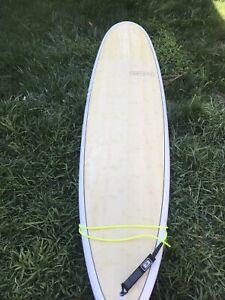7,6 modern mini longboard surfboard