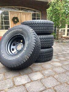 4x Kuhmo 33x12.5 r15 4x4 Tyres And Rims Frankston South Frankston Area Preview