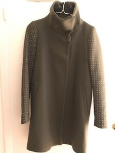 Zara Studded Sleeve Coat