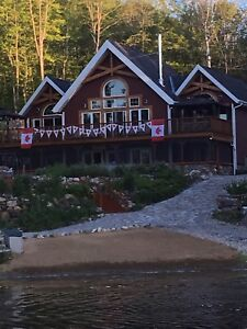 Wow!  Beautiful Family Lakefront Cottage Near Calabogie For Rent
