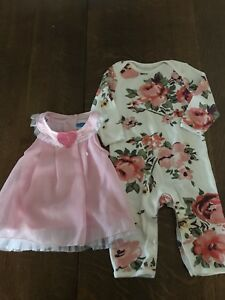 Girls size 6-12 month clothing lot