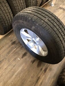 265/70R17 Dodge Ram 1500 rims and tire
