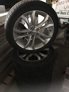 "18"" vw wheels and Goodyear tires , Passat , Golf"