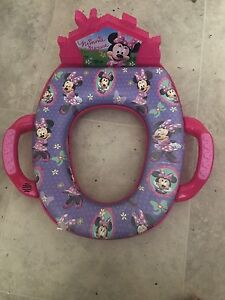 Minnie mouse toilet seat for kids
