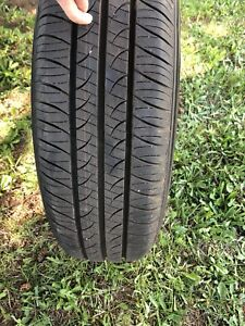All season tires hubcaps and rims included