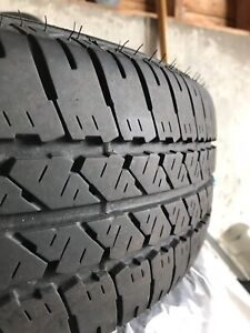 "Four 16"" Firestone Tires"