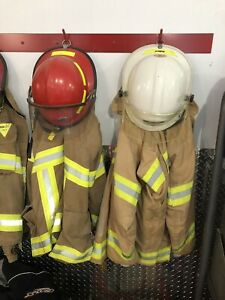 Fire fighter bunker gear
