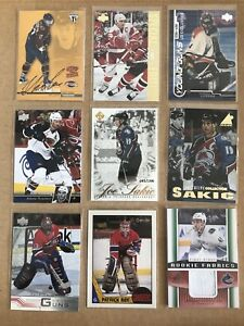 High end hockey card inserts and parallels - $20 each