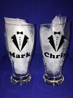 Personalized Bridal Party Glassware