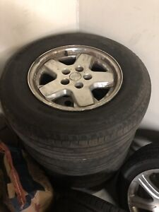 Jeep Liberty original rims with tires
