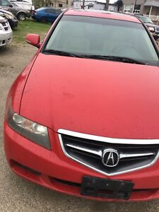 2004 Acura TSX part only