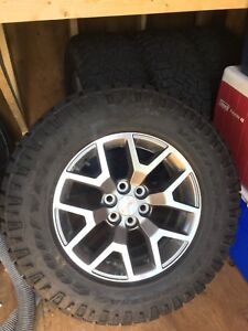 Canyon/Colorado rims and tire package