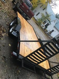 16foot car trailer
