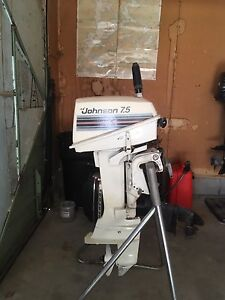 Johnson 7.5 hp outboard