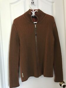 Burnt Orange Prada Sweater