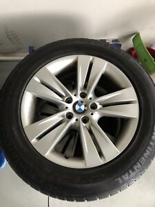 OEM BMW X5 WINTER WHEELS and TIRES