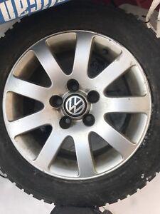 185/65 R15 Volkswagen mags Champiro ice pro tires