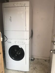27 inch washer and dryer like new for sale