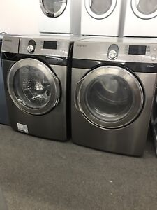 Laveuse;sécheuse Samsung stainless ** Taxes Incluses **