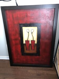 "Large picture frames 38"" x 50"""
