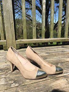 Brand new - Call it Spring - Nude toe cap heels