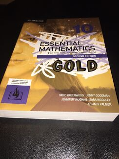 BARGAIN!!! BRAND NEW!!! YEAR 10 ESSENTIAL MATHEMATICS  Biggera Waters Gold Coast City Preview