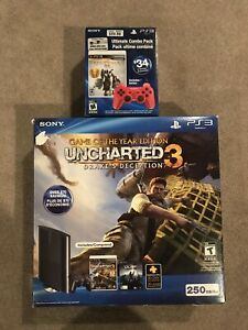 Ps3 super slim bundle with god of war collection.