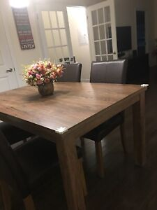 Moving sale dinner ,breakfast table and chairs, bed,sofa etc