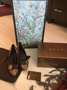 Authentic Gucci heels size 41/size 11