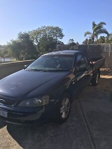 BA falcon tradesman Ute. 6cyl. Swap for forklift