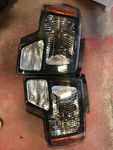 OEM ford Black Headlights