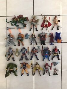 MASTERS OF THE UNIVERSE 200X HEROES ACTION FIGURES