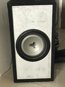 JL 10 inch sub in ROX BOX high output