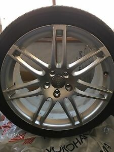Audi A4 S Line Rims and Tires