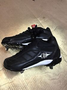 Easton Metal Baseball spikes - Size 11.5 Men's shoe NEW