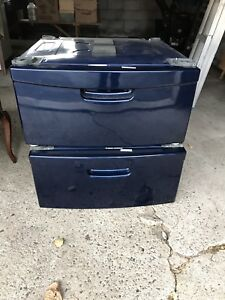"""Pedestals for washer and dryer 27""""W. From our Kenmore Elite(LG)"""