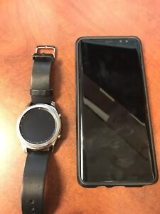 Note 8 and gear s3 for sale