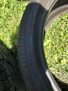 KUMHO 18 inch Practically Brand New Tires for sale!